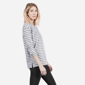 Everlane heavyweight striped tee